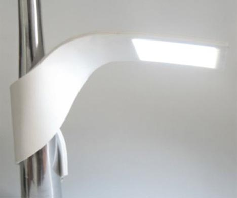 custom bendy personal lamp