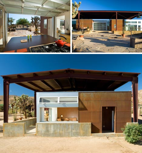 Superior Desert Green Eco House Design