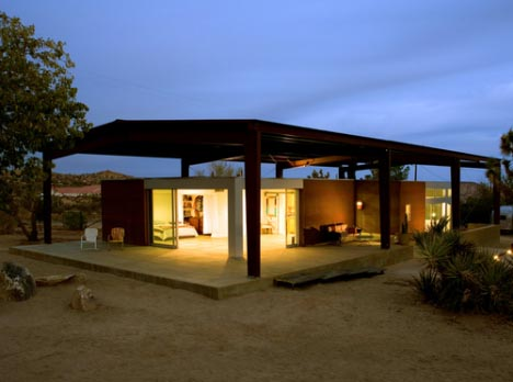 Simple, Modern U0026 Green: Desert Dream House Design