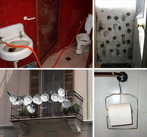 diy funny home fixes