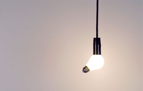 funny offbeat lighting design