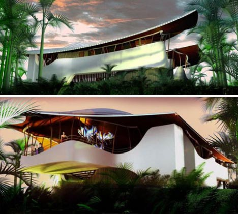 Futuristic Eco Friendly Home