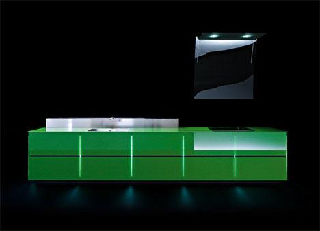 futuristic eco friendly kitchen