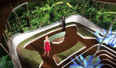 futuristic interior design idea