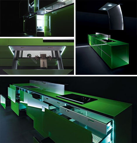 futuristic kitchen remodels - Futuristic Kitchen