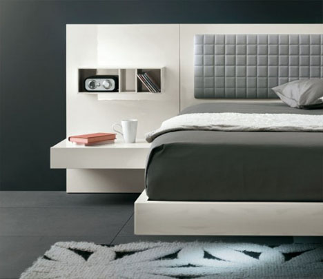 Cool Floating Futuristic Bed Amp Modern Headboard Design