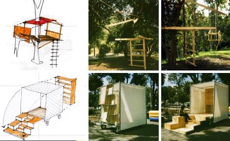 interactive minimalist public spaces