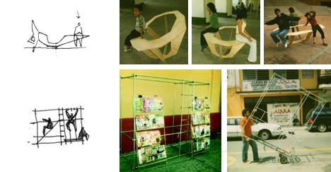 Awesome Interactive Mobile Urban Furniture
