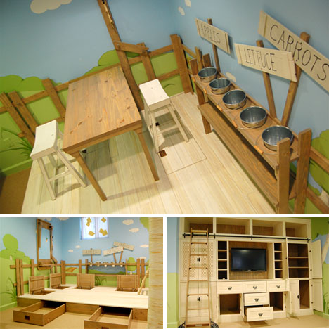 Kids Bedroom House cool interior tree home: best kids bedroom design ever?