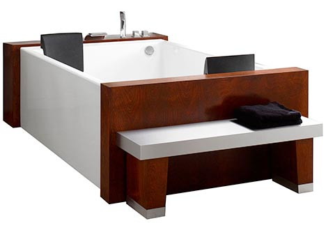 Luxury Home Water Lounge Two Person Bath Amp Hot Tub