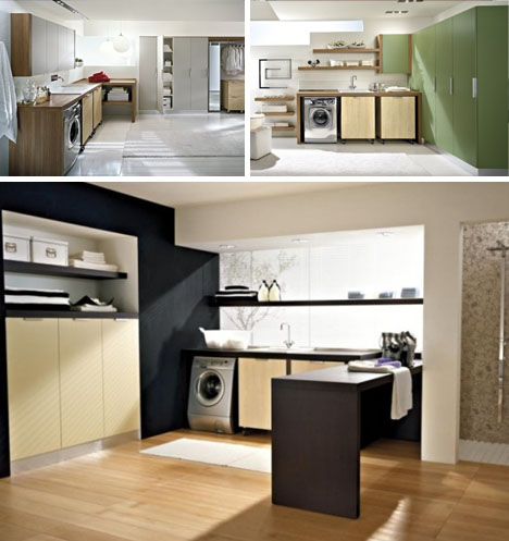 modern laundry design idea - Laundry Design Ideas