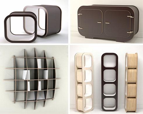 modern retro storage ideas