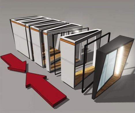 modular custom home office