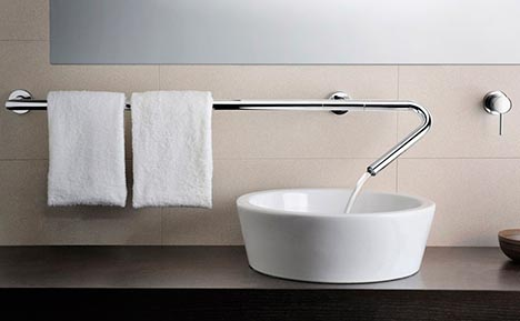 Modular Modern Design: Do It Yourself Bathroom Faucet