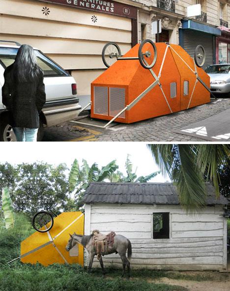 portable urban rural home