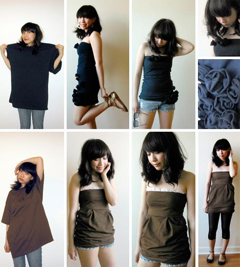 recycled clothing upcycling idea