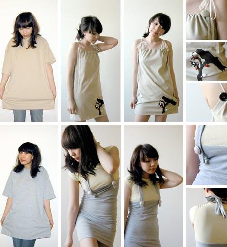 recycled tshirt clothing designs