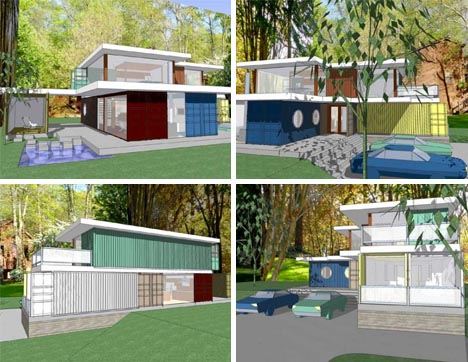 shipping container houses - Diy Shipping Container Homes