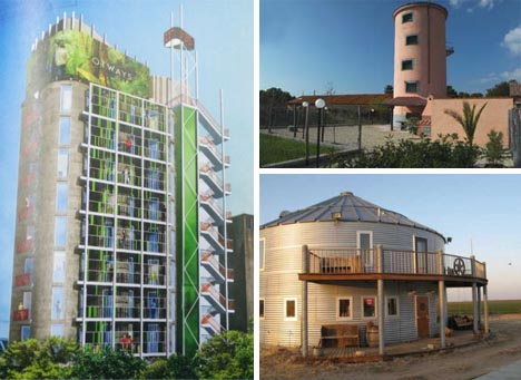 silo homes converted