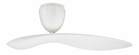 Contemporary single blade indoor outdoor ceiling fan aloadofball Image collections