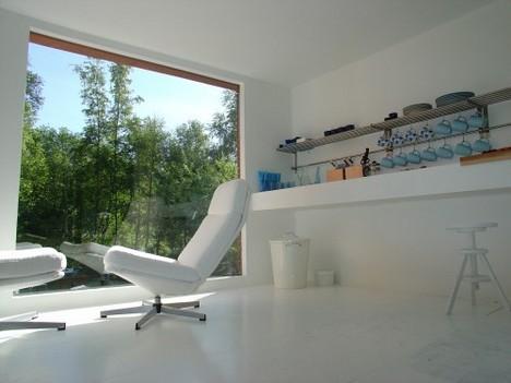 small modular house interior
