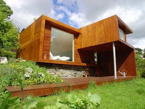 small modular modern home