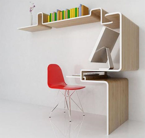Space Saving Home Office Furniture Enchanting Prepossessing 40 Space Saving Home Office Decorating Design Of Decorating Design