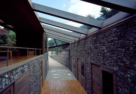 stone home interior exterior