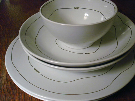 topographical plates set