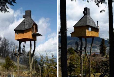 tree house diy design