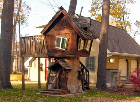 tree house postmodern humor