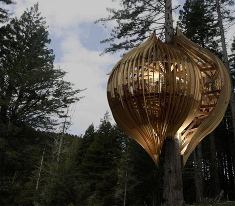 treehouse ultramodern design