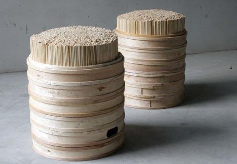 & Upcycled Furniture: Creative Chopstick Stool Design islam-shia.org