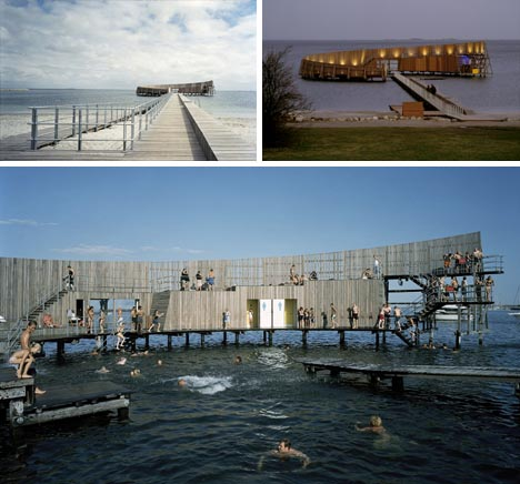 urban open ocean pool