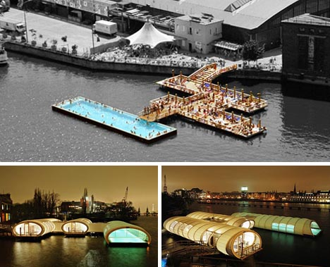 urban outdoor pool design