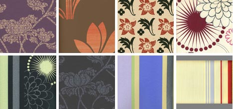 vintage wallpaper collection