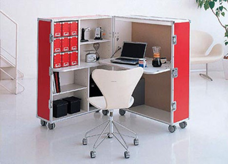 Mobile Modular Rolling Office Designs