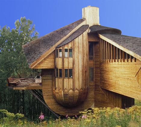 Robert Harvey Oshatz snow clam house in mt crested butte colorado 2