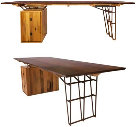- Vintage Lumber Recycled Into New Wood Furniture Designs