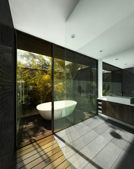 Futuristic Nature House Design: Bathroom Designs: Pictures, Ideas, Interiors & Inspiration