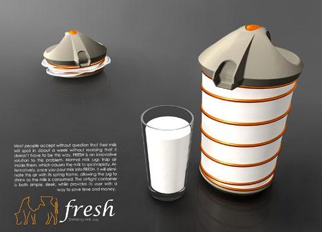 clever milk carton design concept