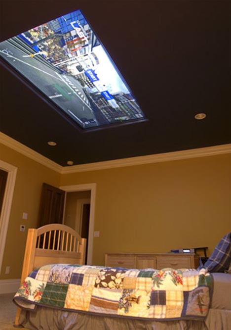 Home Of Cool Kids Bedroom Design With 100 Ceiling Tv