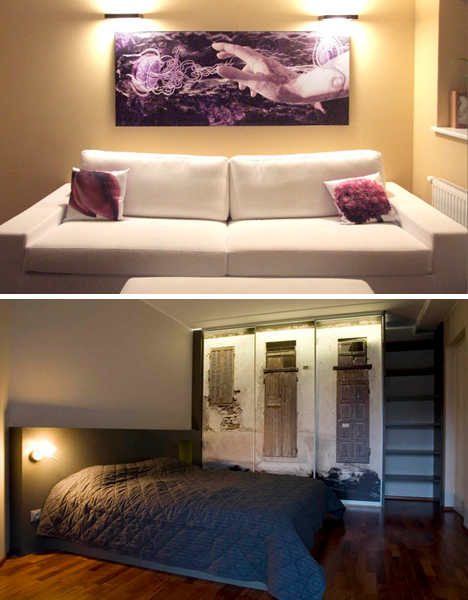 creative artistic wall stickers