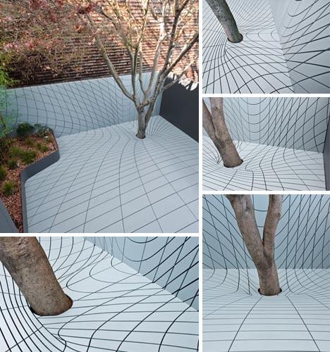 creative free form geometric deck