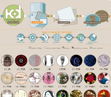 creative laptop sticker patterns