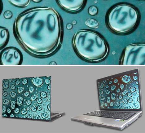 creative wall laptop stickers