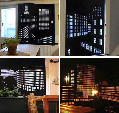 creative window curtain designs