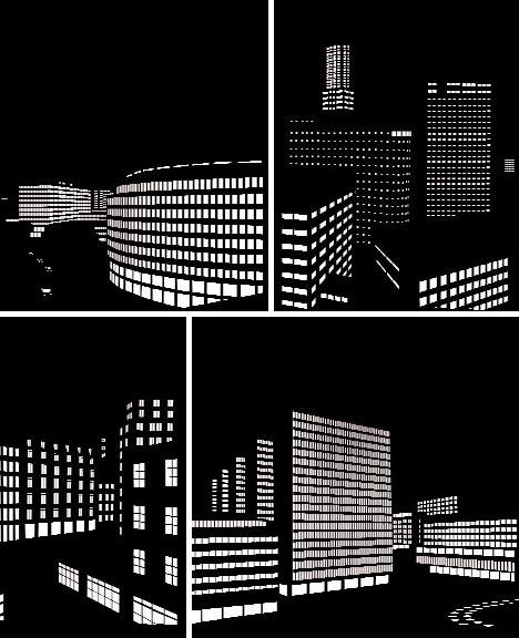 Creative Window Curtains Blinds