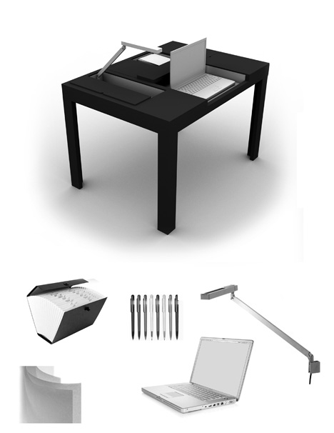 dining desk table design