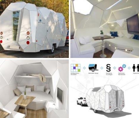 diy custom trailer home